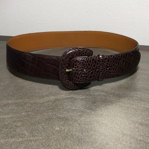 Lauren Ralph Lauren Leather Belt Size Medium